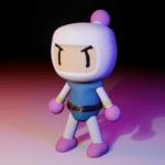 Modelado 3D - Bomberman 1